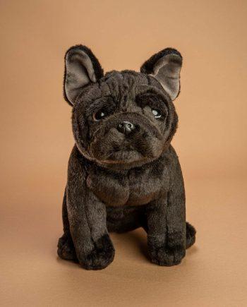 Black French Bulldog soft toy dog gift - Send a Cuddly