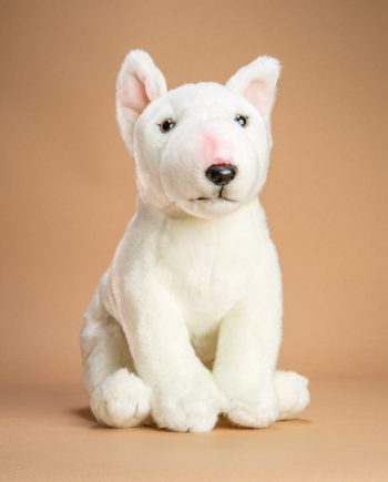 English Bull Terrier soft toy dog gift - Send a Cuddly