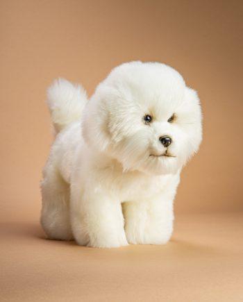 Bichon Frise soft toy dog - Send a Cuddly