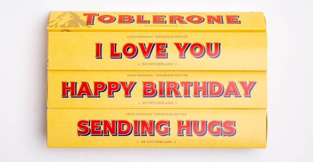 I Love You Toblerone