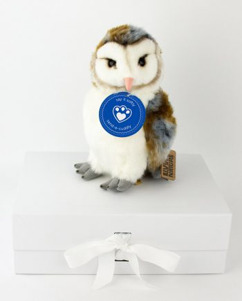 Barn owl soft toy