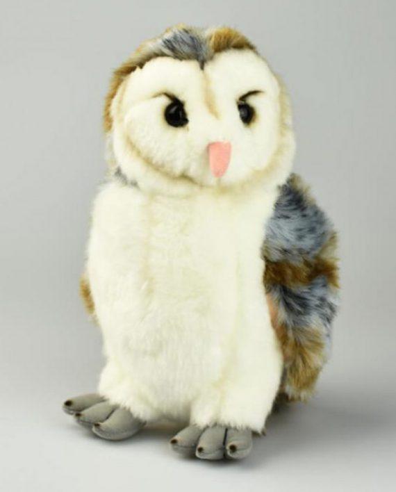 Barn owl soft toy
