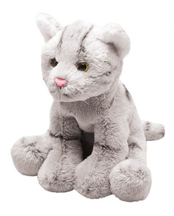 Delightful Grey Kitten soft toy