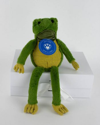 Freddy the Frog sof toy 1