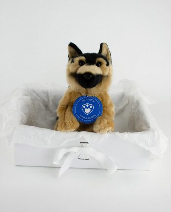 German Shepherd soft toy