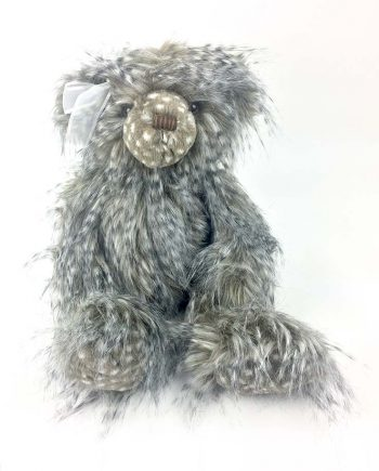 Isla Silver Tag Teddy Bear