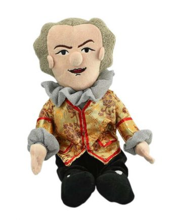 Johann Sebastian Bach soft toy doll