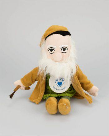 Leonardo Da Vinci soft toy doll gift