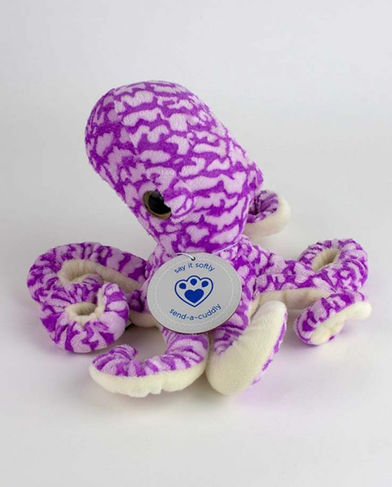 Olivia Octopus soft toy gift