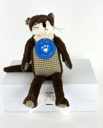 Oscar Otter soft toy gift