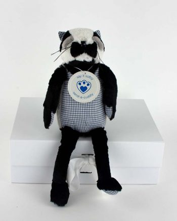 Percy Brocklehurst Badger soft toy gift idea