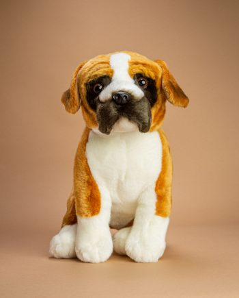 Boxer Soft Toy Gift - Send a Cuddly