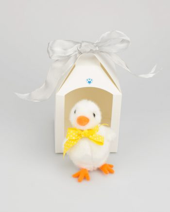 White Easter Chick gift