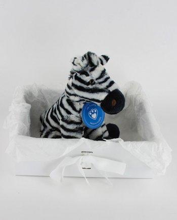 Zany Zebra Soft Toy Gift