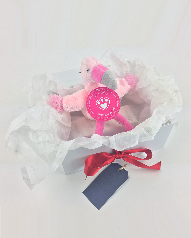Pippins Flamingo Soft Toy Soft Toy Gifts By Post Send A Cuddly