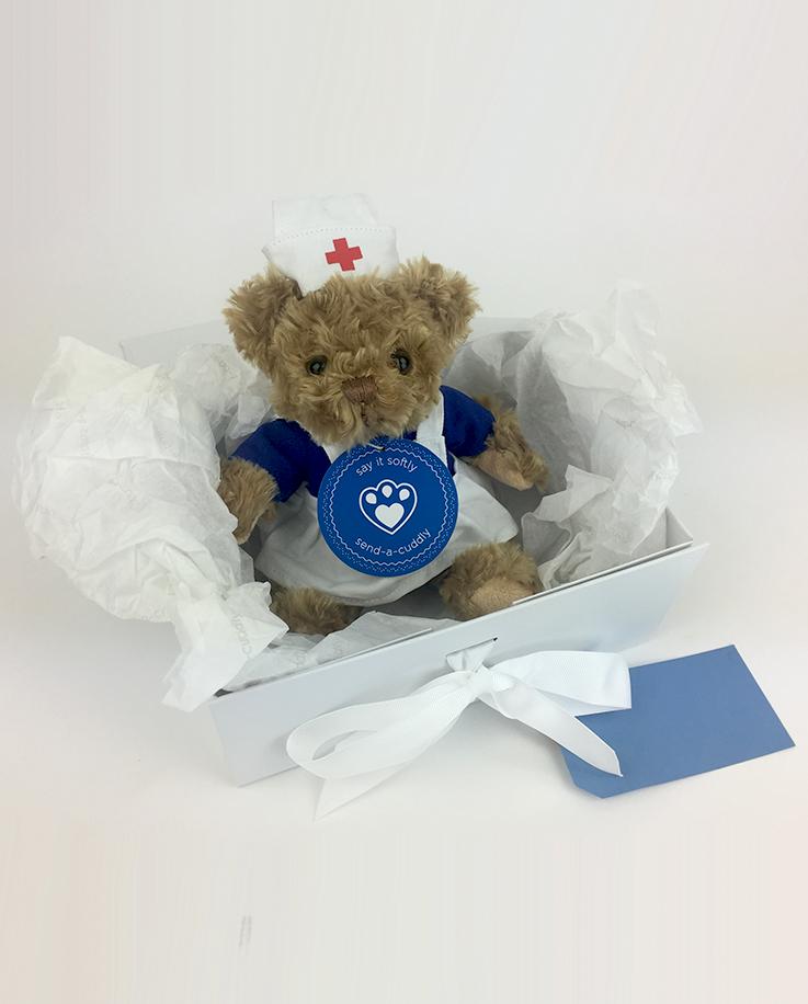 543db7b46e5 Home   Shop   Choose By Type   Teddy Bear Gifts   Nurse Bear in Nurse  Uniform