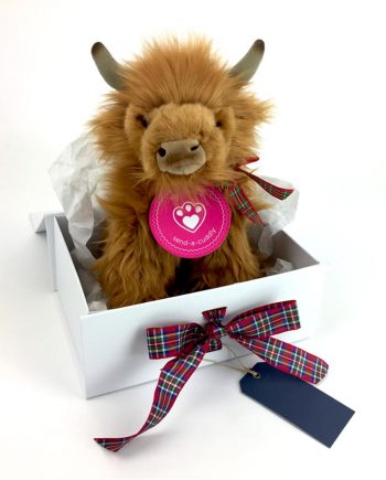 Handmade Highland Cow scottish gift