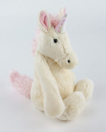 Jellycat Bashful Unicorn Soft Toy - Send a Cuddly