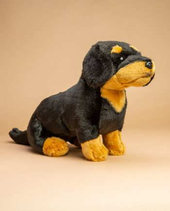 Black and Tan Dachshund Dog soft toy gift - Send a Cuddly