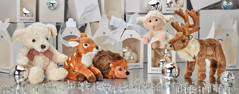 Christmas Soft Toys - Send A Cuddly