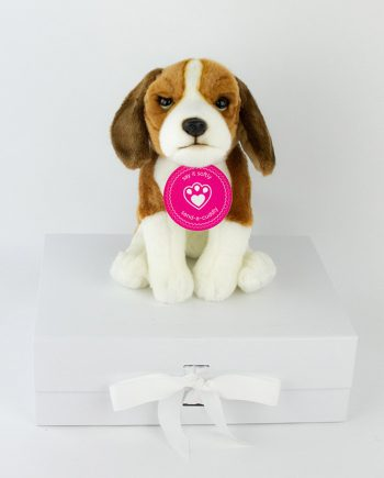 Beagle soft toy