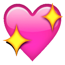 know the meaning of the sparkly heart emoji