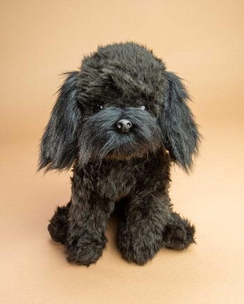 Black Cockapoo dog soft toy gift - Send a Cuddly