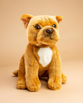 Staffordshire Bull Terrier Red Soft Toy Gift - Send a Cuddly