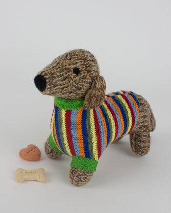 Knitted Sausage Dog