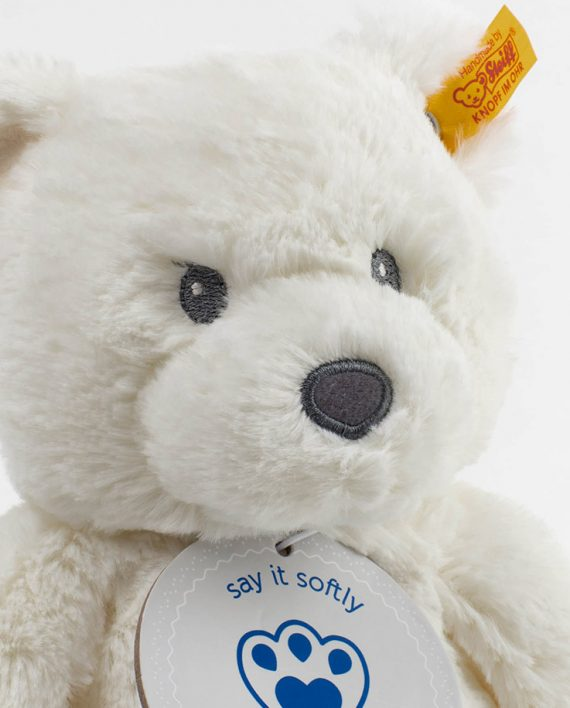 Steiff White Bearzy Teddy Bear 1