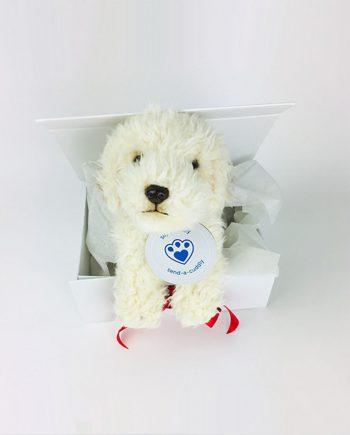 Labradoodle plush toy
