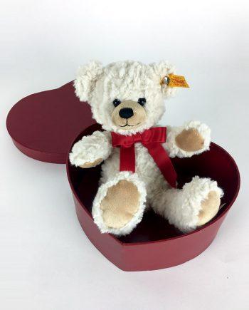 Sweetheart Teddy Bear in Heart Boxed gift