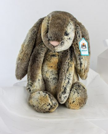 Large Bashful Cottontail Bunny