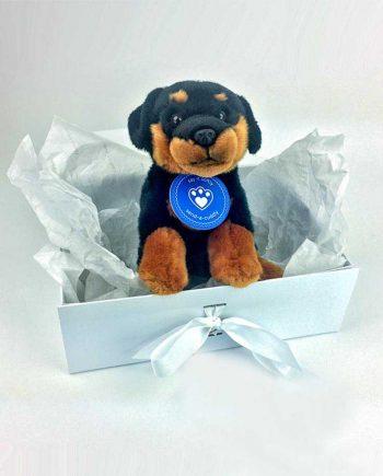 Rottweiler Soft Toy