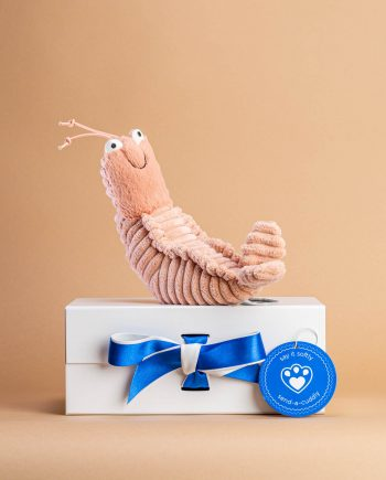 Shrimp Prawn soft toy - Send a Cuddly