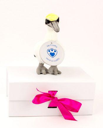 Gannet soft toy gift