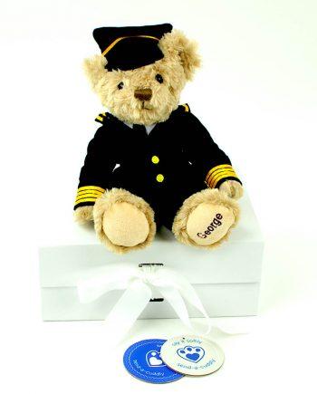 George Pilot Teddy Bear