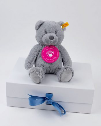 Grey Bearzy Teddy Bear by Steiff