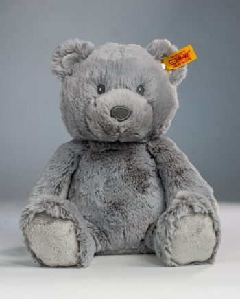 Steiff Grey Bearzy Teddy Bear - Send a Cuddly