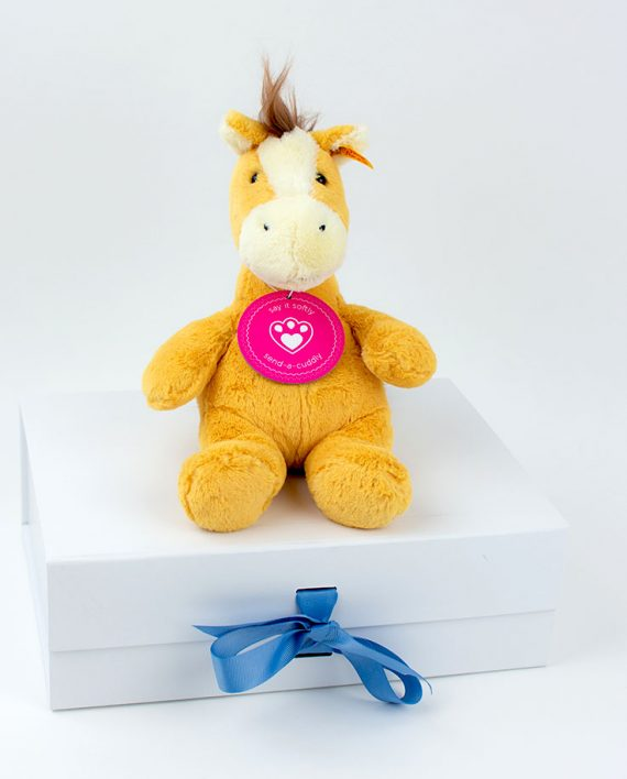 Soft Cuddly Friends Hippity Horse by Steiff 1