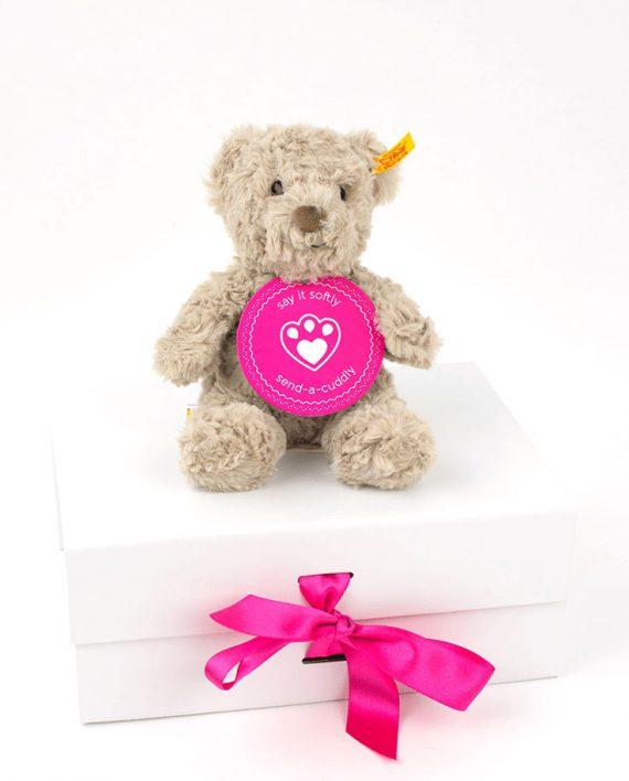 Soft Cuddly Friends Honey Teddy bear by Steiff