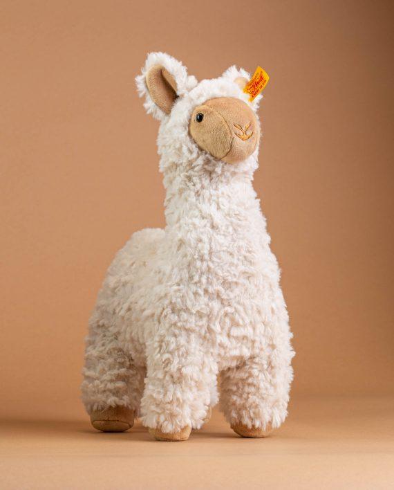 Steiff Leandro Llama - Cream - Send A Cuddly