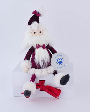 Jellycat Cranberry Santa christmas gift