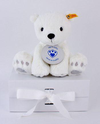 Steiff Lasse polar bear