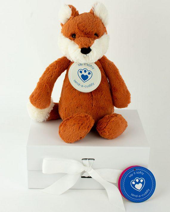 jellycat fox gift