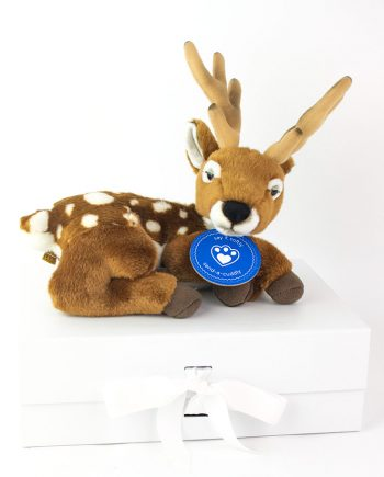 Christmas Reindeer Cuddly Toy