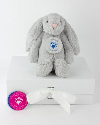 jellycat silver bunny