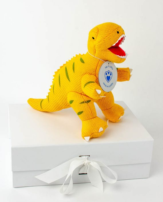 Yellow T-Rex Gift