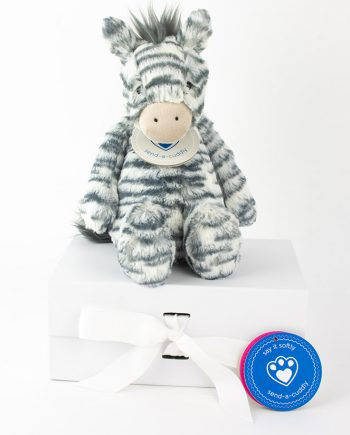 jellycat zebra gift