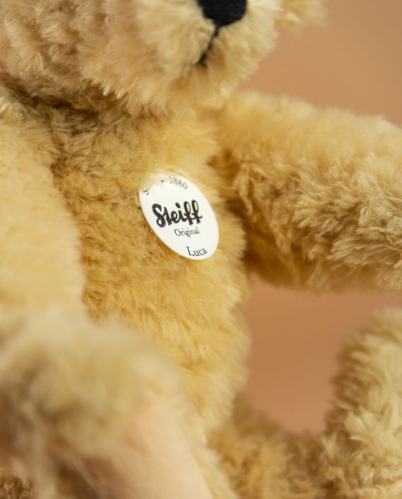 Steiff Luca Teddy Bear Soft Toy - Send a Cuddly